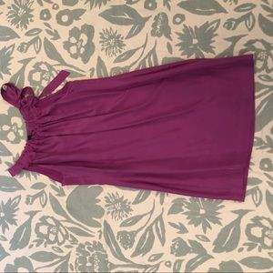 Banana Republic side tie dress